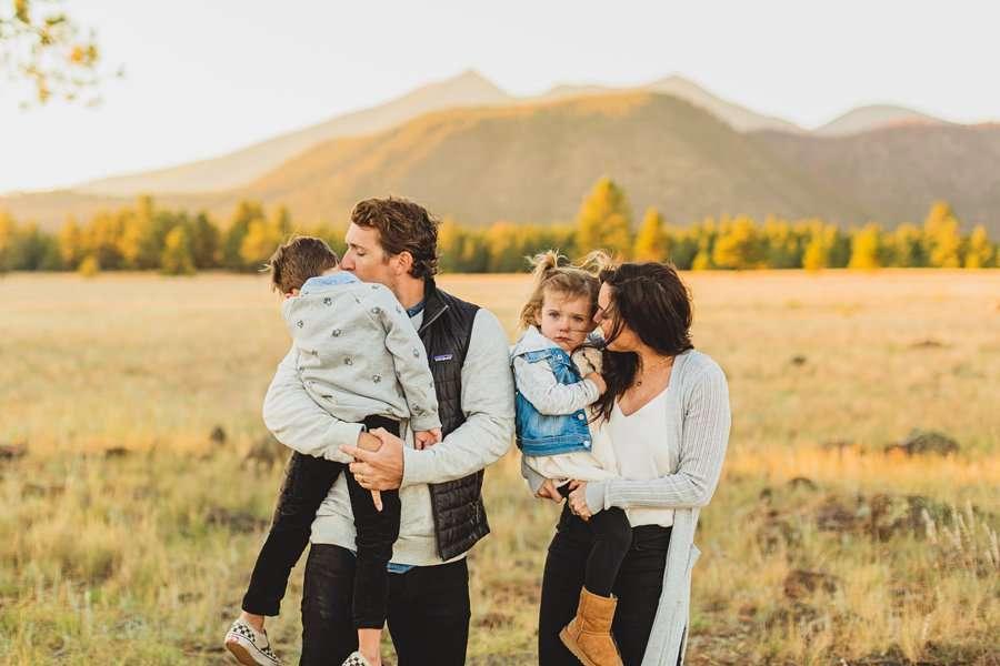 Jacobsen Family: Northern Arizona Portrait Photography enjoying time together