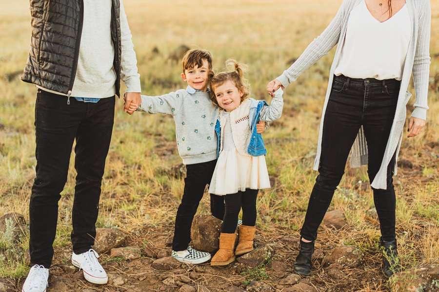 Jacobsen Family: Northern Arizona Portrait Photography children portraits