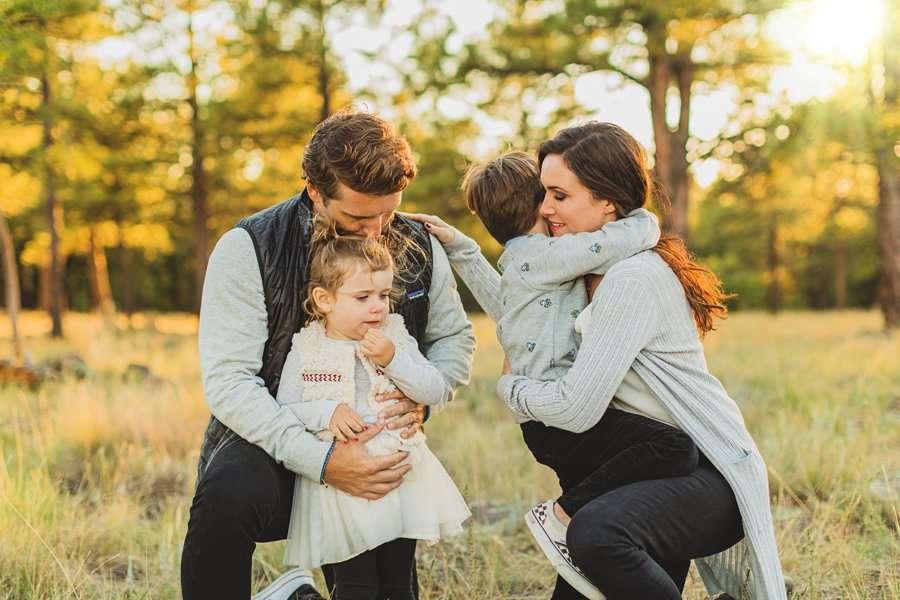 Jacobsen Family: Northern Arizona Portrait Photography buffalo park