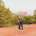 Katie and Matt: Sedona Arizona Engagement Session
