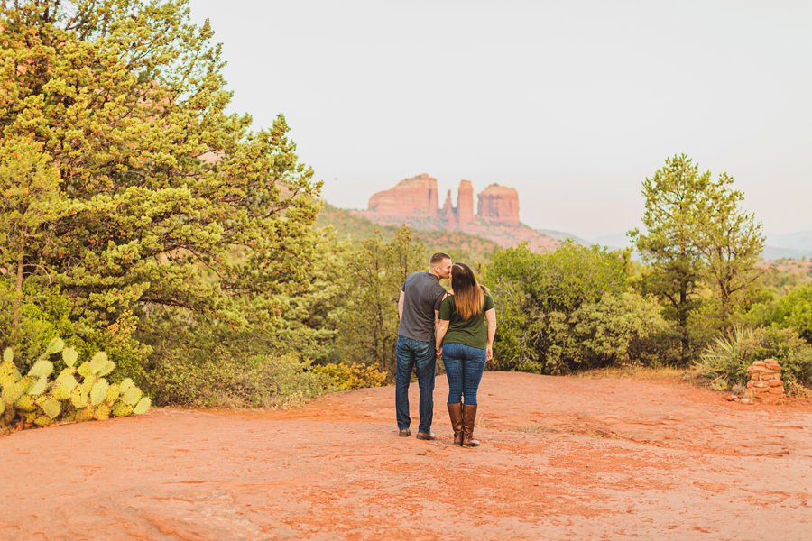 Katie and Matt: Sedona Arizona Engagement Session scenic locations for engagements