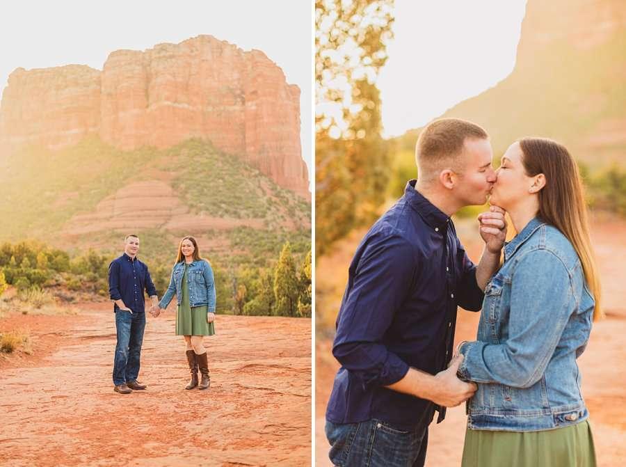 Katie and Matt: Arizona Portrait Photographers best places for portrait sessions