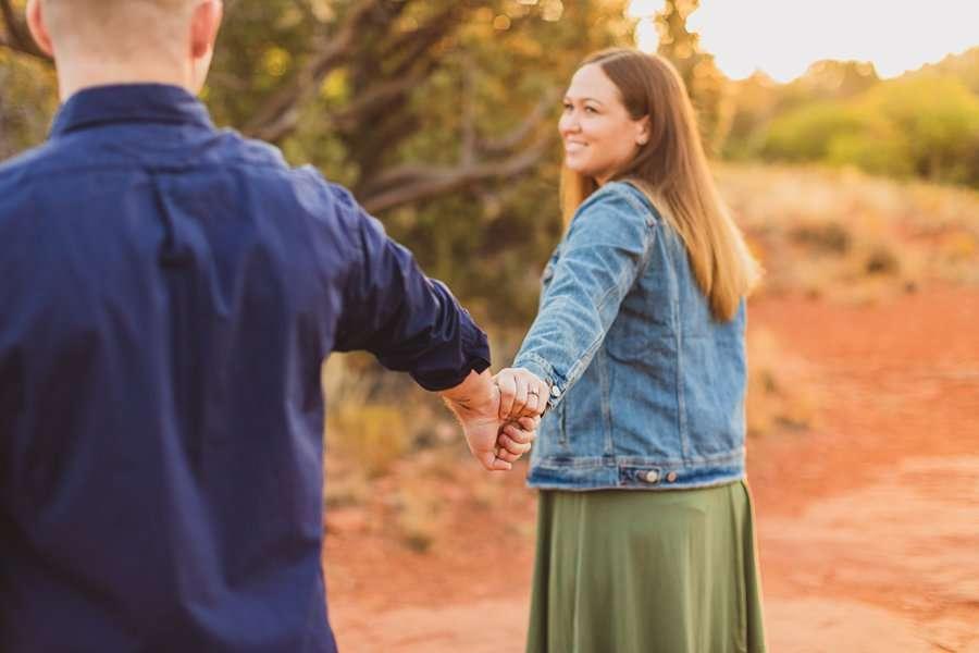 Katie and Matt: Arizona Portrait Photographers adventure photographers
