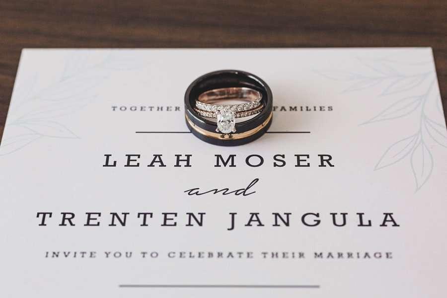 Leah and Trenten: Hotel Valley Ho Scottsdale Wedding macro ring details