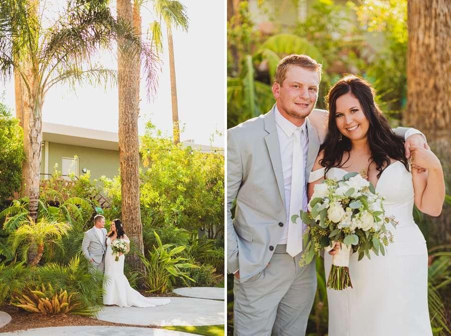 Leah and Trenten: Scottsdale Elopement Photographers sunset golden glow