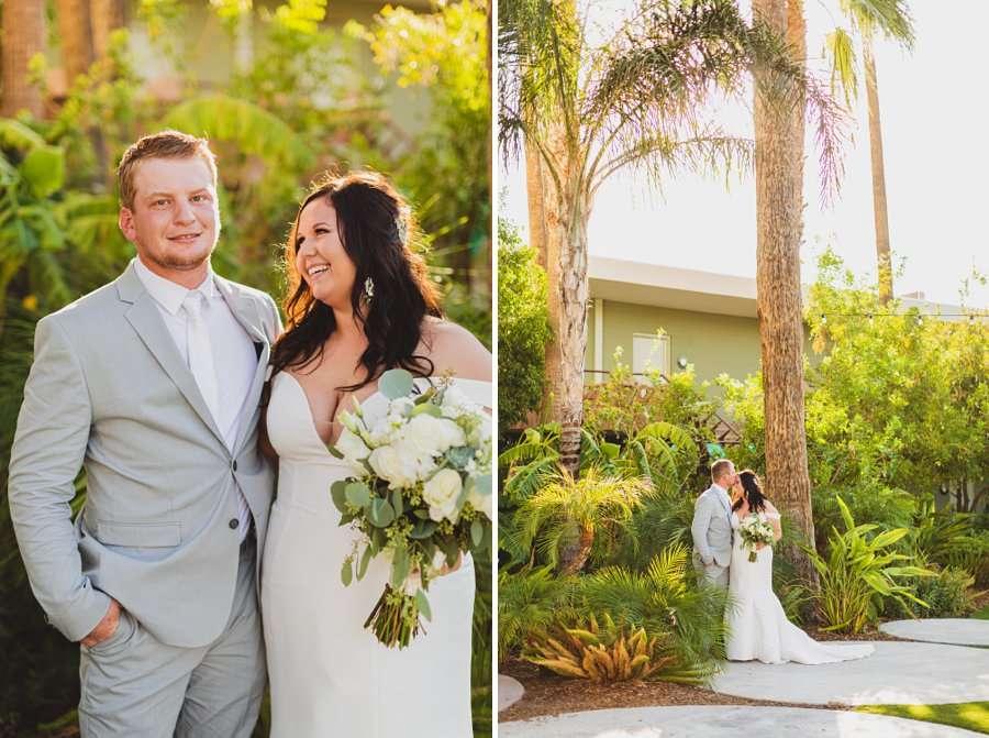 Leah and Trenten: Hotel Valley Ho Scottsdale Wedding intimate wedding portraits
