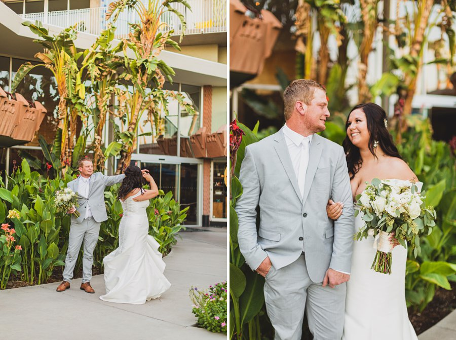 Leah and Trenten: Scottsdale Elopement Photographers best poses for couples