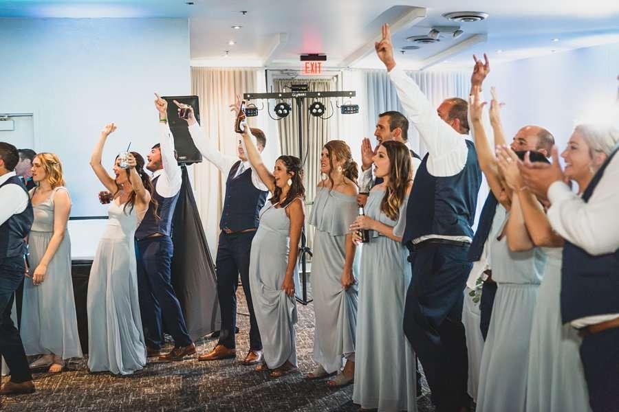 Leah and Trenten: Scottsdale Elopement Photographers celebration