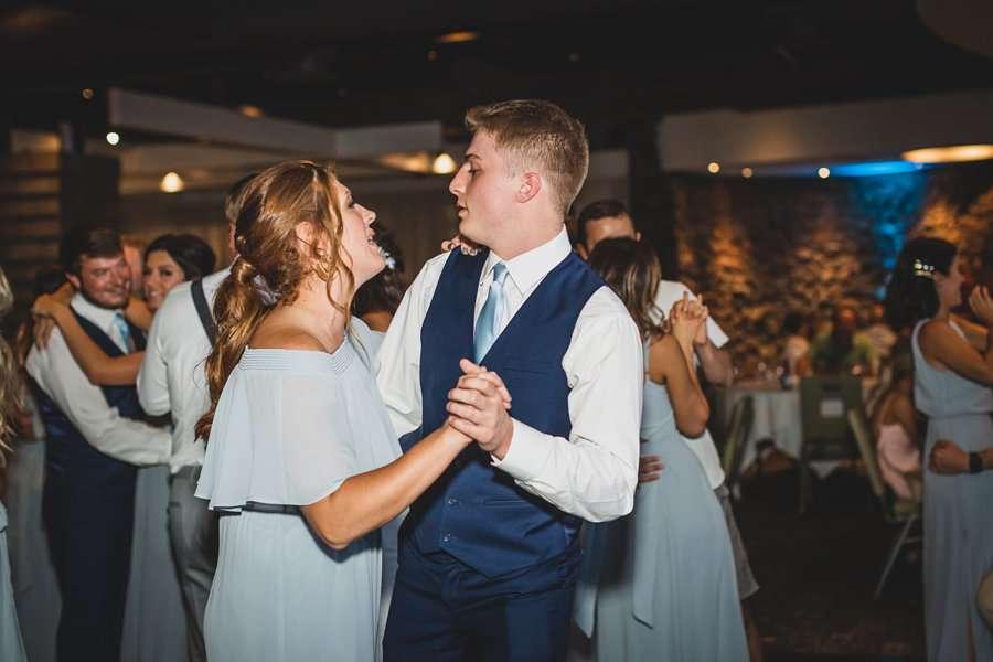 Leah and Trenten: Scottsdale Elopement Photographers dancing