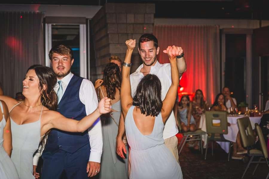 Leah and Trenten: Scottsdale Elopement Photographers dance party