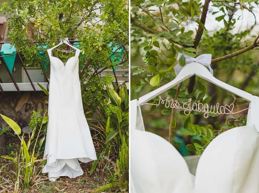 Leah and Trenten: Hotel Valley Ho Scottsdale Wedding the wedding dress