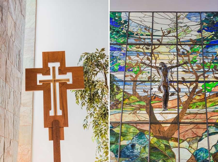 Leah and Trenten: Scottsdale Elopement Photographers church details