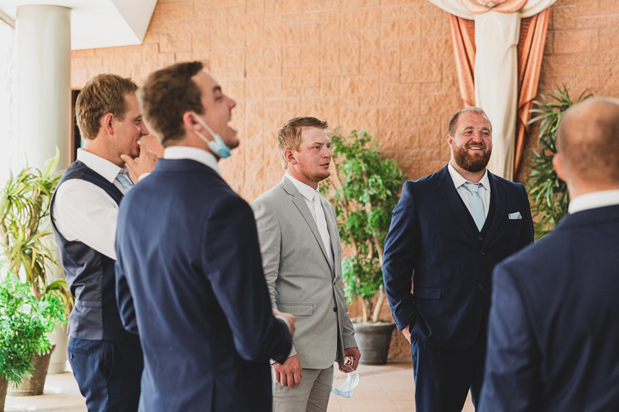 Leah and Trenten: Hotel Valley Ho Scottsdale Wedding getting ready