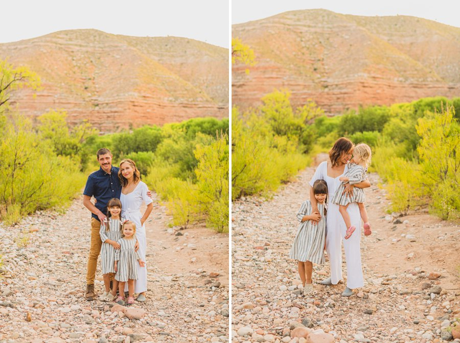 Payne Family: Verde Valley Family Photographer best photography locations