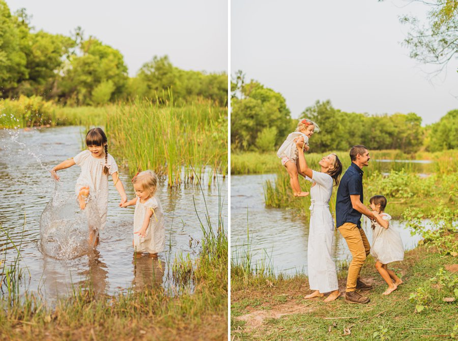 Payne Family: Cottonwood Clarkdale Portrait Photography fun pose ideas