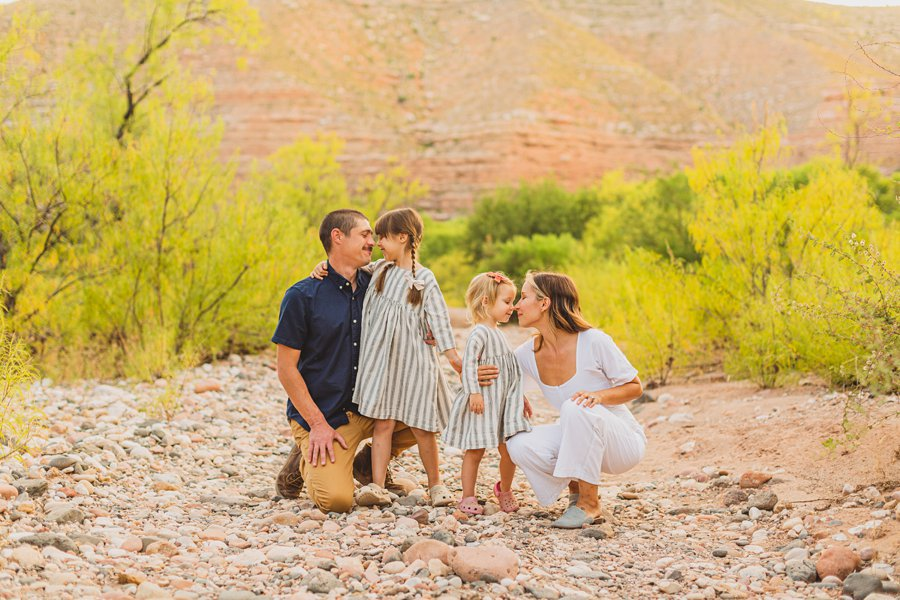 Payne Family: Verde Valley Family Photographer happy fun family