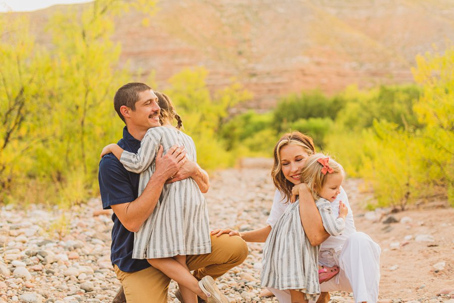 Payne Family: Verde Valley Family Photographer unique locations for photography sessions