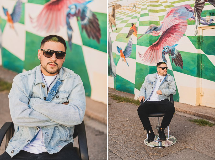Precision Blends: Marketing Photographers Northern Arizona portrait photography unique barber company