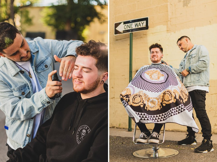 Precision Blends: Flagstaff Personal Branding Photography northern arizona barber
