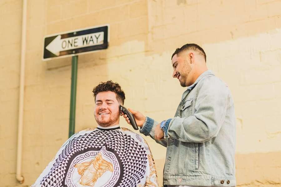 Precision Blends: Marketing Photographers Northern Arizona barber shop