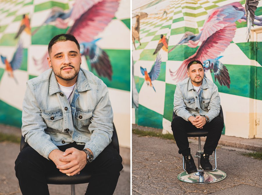 Precision Blends: Marketing Photographers Northern Arizona barber portraits