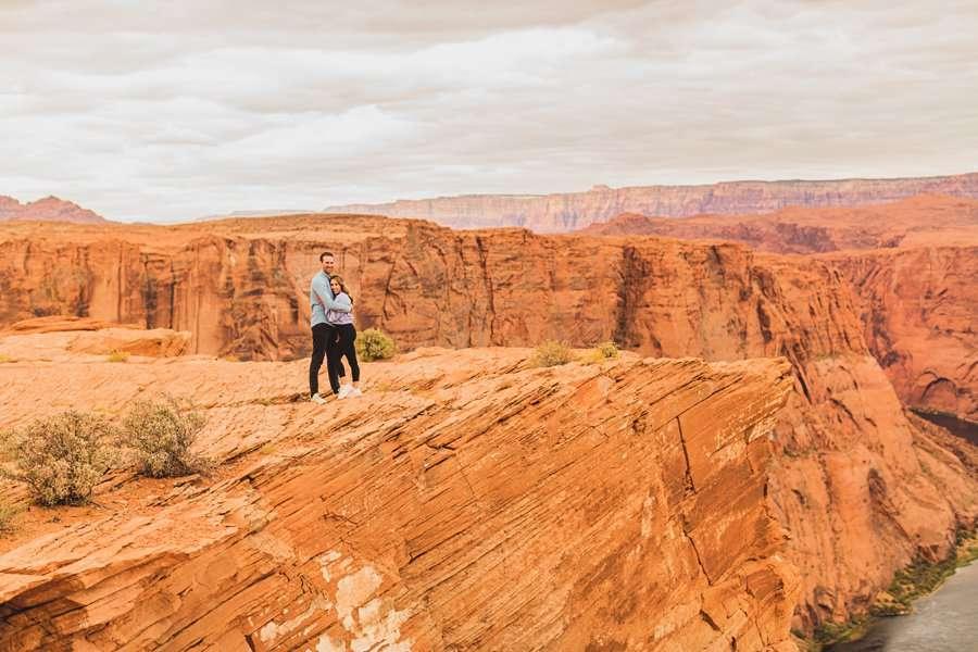 Steve's Surprise Arizona Engagement Locations grand canyon