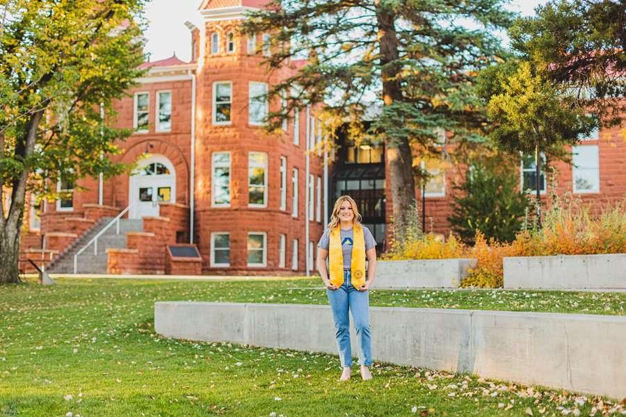 Alyssa: Northern Arizona University Portraits nau old main