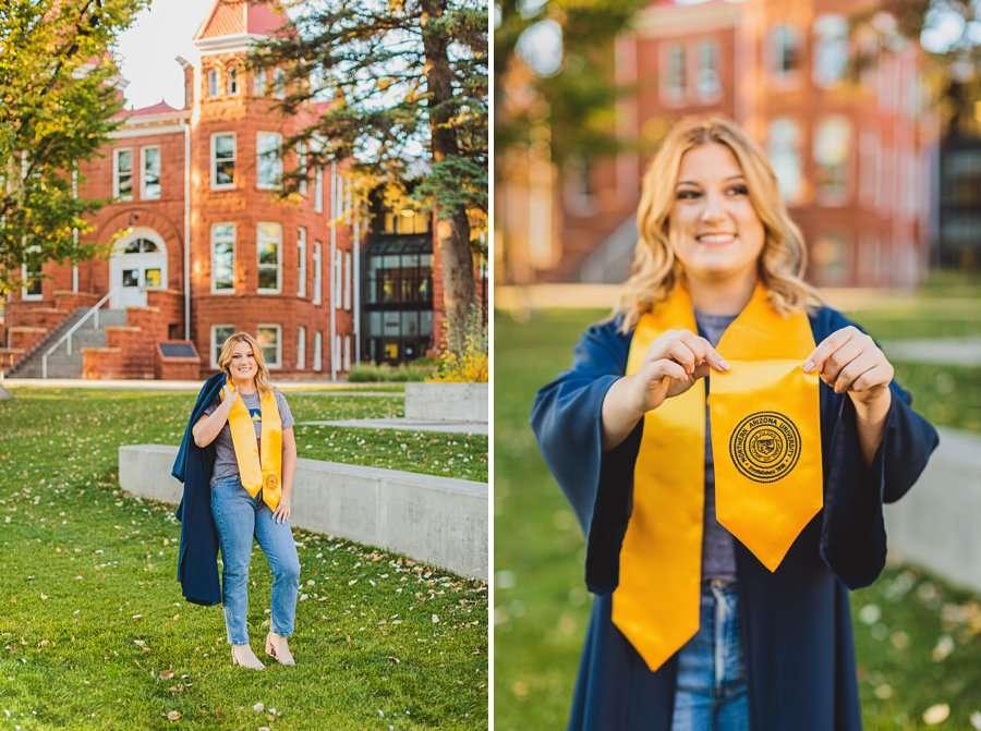 Alyssa: Northern Arizona University Portraits celebrating