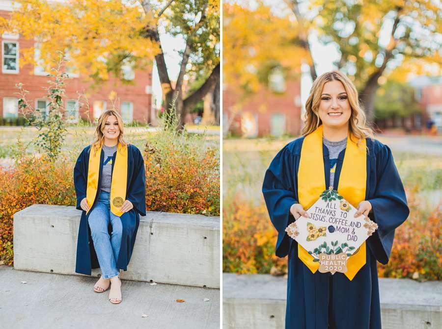 Alyssa: NAU Graduation Photographer cap and gown