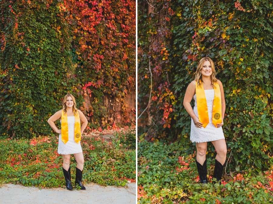 Alyssa: NAU Graduation Photographer beautiful colors young woman
