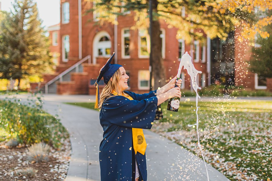 Alyssa: NAU Graduation Photographer celebration