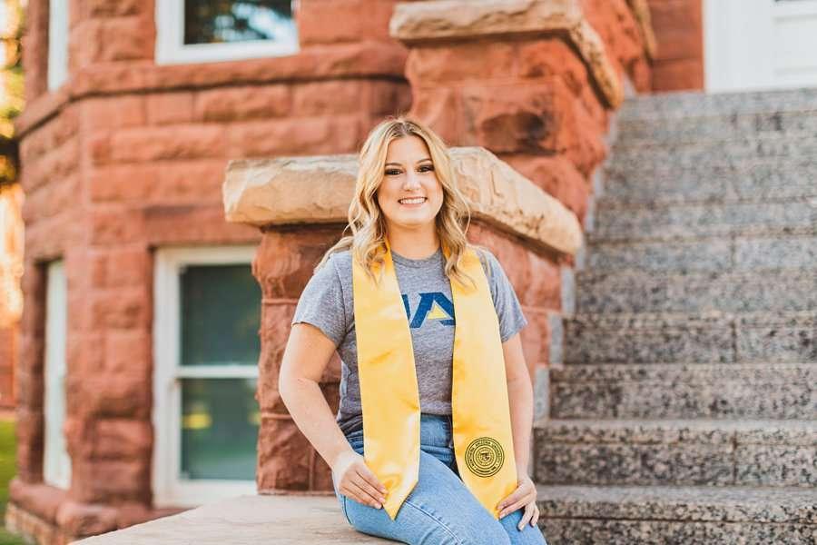 Alyssa: Northern Arizona University Portraits NAU lumberjacks