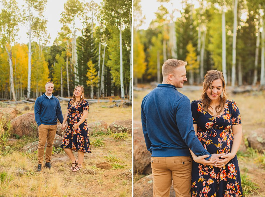 Ben and Alexandra: Arizona Autumn Portrait Sessions mr and mrs
