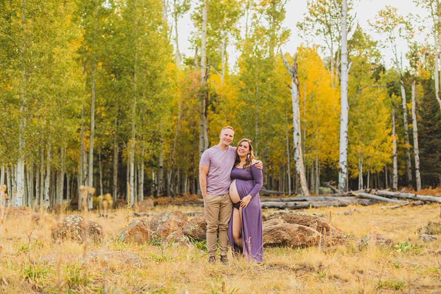 Ben and Alexandra: Arizona Autumn Portrait Sessions joy and love