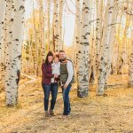 Aspen Autumn Portrait Photography: Bowman Family
