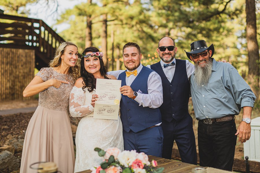 Lexi and Garrett: Northern Arizona Elopements license