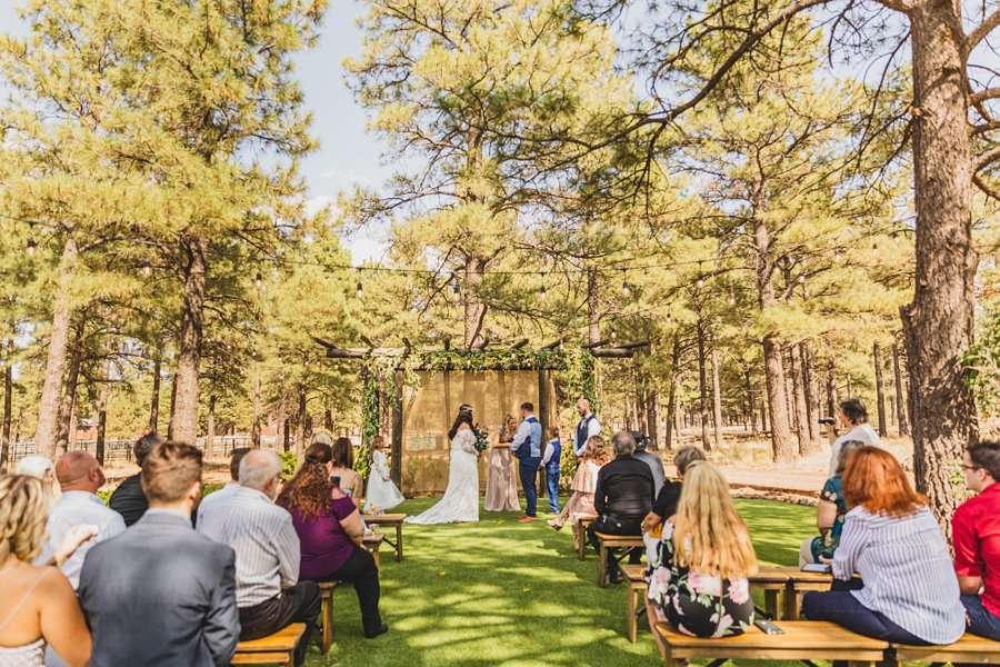 Lexi and Garrett: Northern Arizona Wedding Venues the site