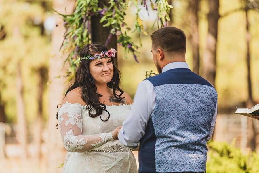 Lexi and Garrett: Northern Arizona Wedding Venues brides perspective