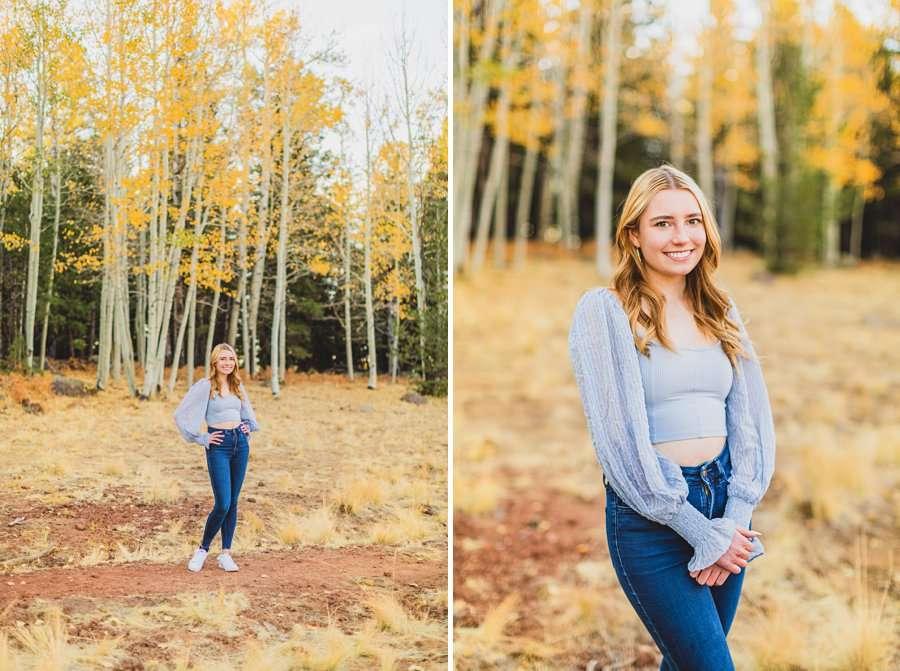 Frances: Arizona Snowbowl Portrait Photographer happy and joy