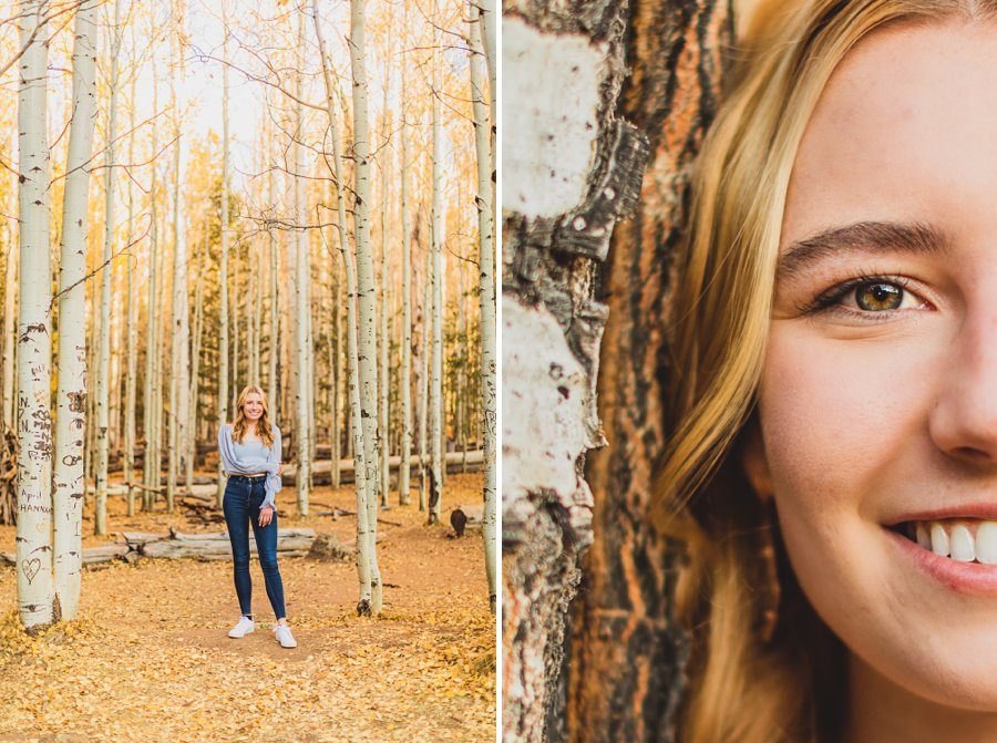 Frances: Aspen Senior Portraits Flagstaff