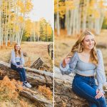 Aspen Senior Photography Flagstaff: Frances