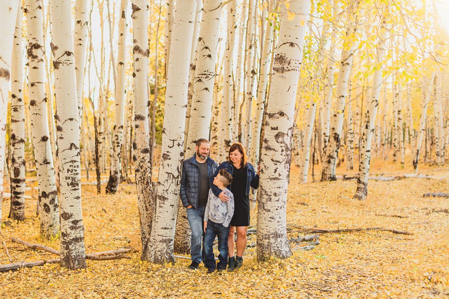 Hauser Family: Arizona Autumn Family Photography in the colors