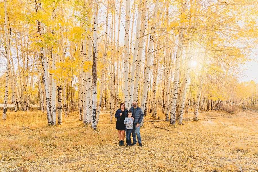 Hauser Family: Arizona Autumn Family Photography sunset golden light