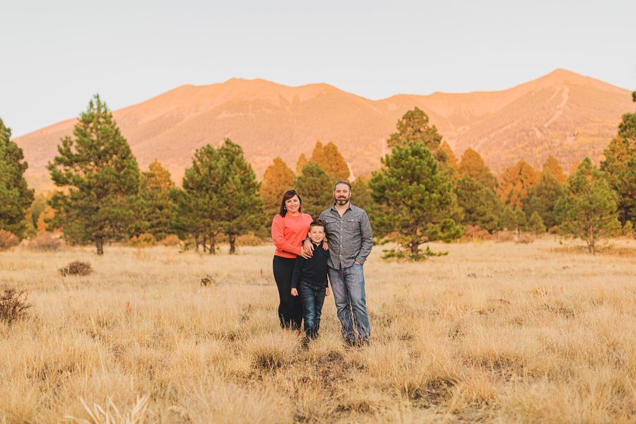 Hauser Family: Arizona Autumn Family Photography best locations for portraits