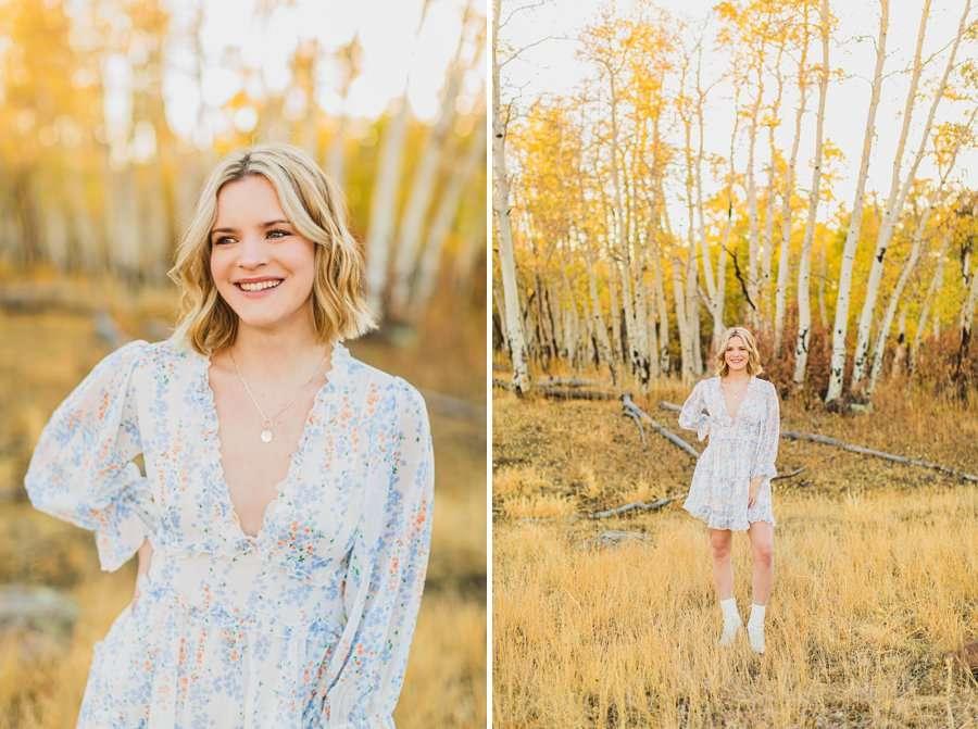 Kaia: Senior Photography Northern Arizona smiling