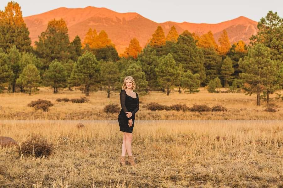 Kaia: Senior Photography Northern Arizona landscape