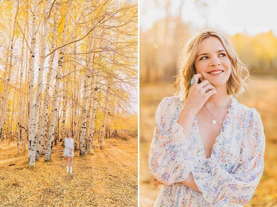 Kaia: Senior Photography Northern Arizona flattering poses