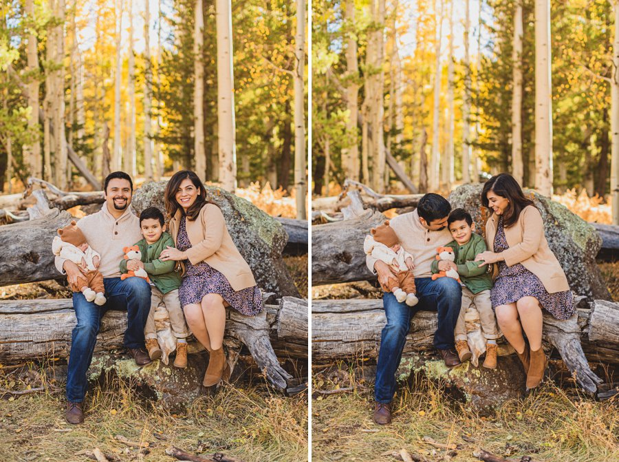 Khaznadar Family: Aspen Corner Portrait Photographer az best locations