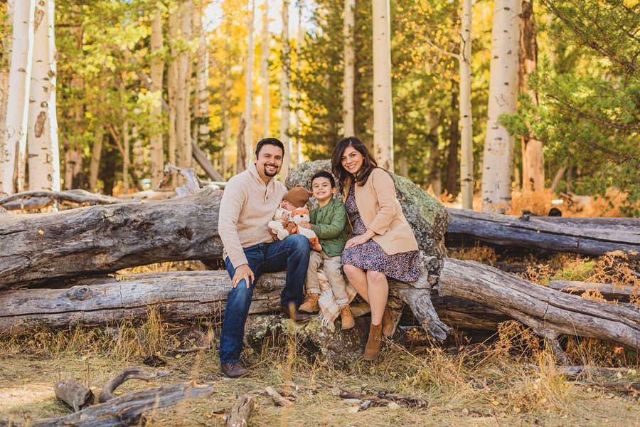 Khaznadar Family: Aspen Corner Portrait Photography
