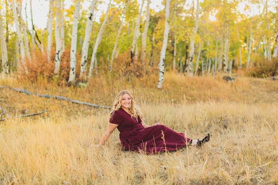 Layne and Sophie: Northern Arizona Fall Photography mountain landscapes